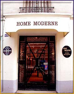 Paris hotel hotel home moderne paris france reservation - Hotel home moderne paris ...